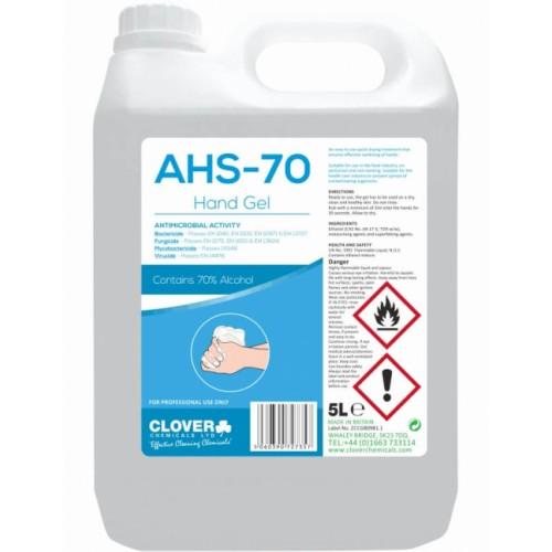 AHS Gel Hand Sanitiser 5  Litres