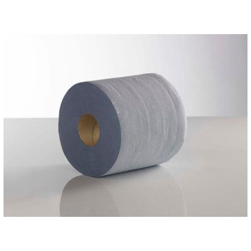 Blue Centre Feed Roll 2 ply (Pack of 6 )