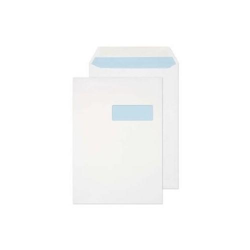 C4 Window White Envelopes ( Pack of 250)