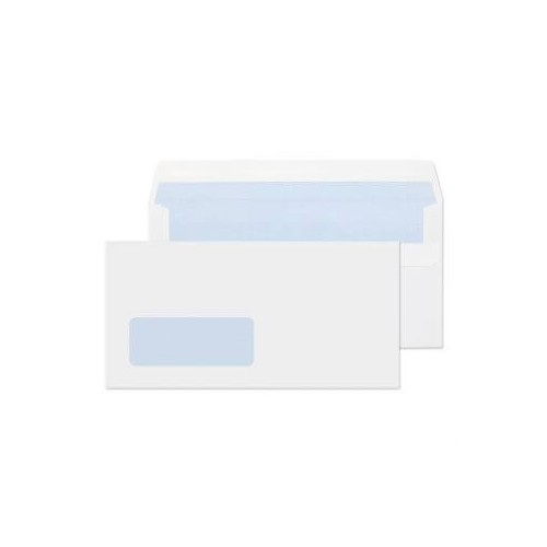 DL Window White Envelopes ( Pack of 1000)