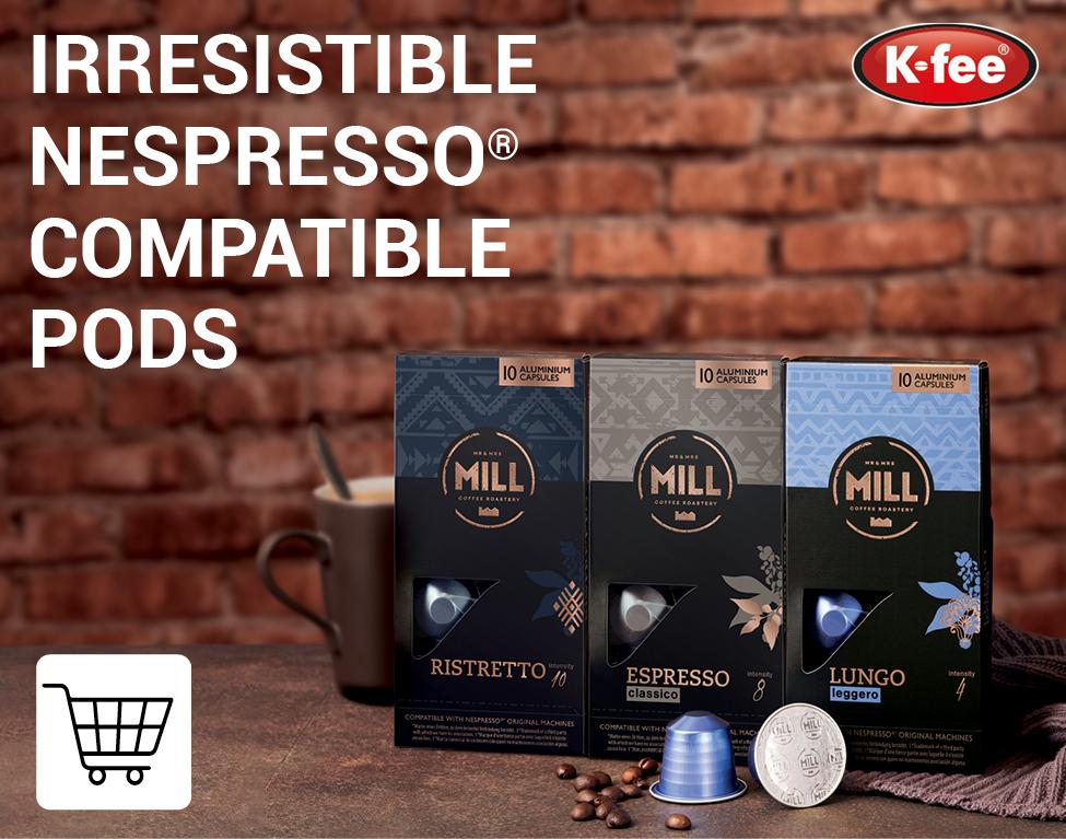 K-fee Nespresso Compatible Pods