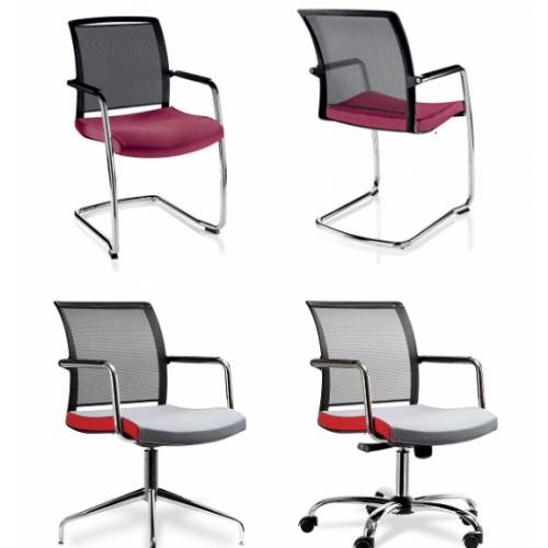 Passport Swivel Chair Red