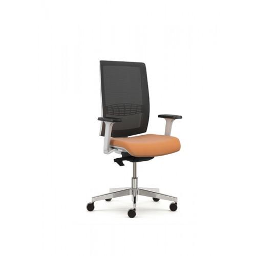 Kind Operators Chair White and Orange