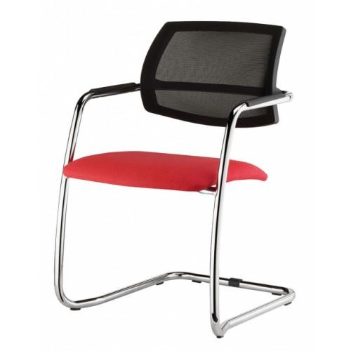 Urban Cantilever Mesh Chair